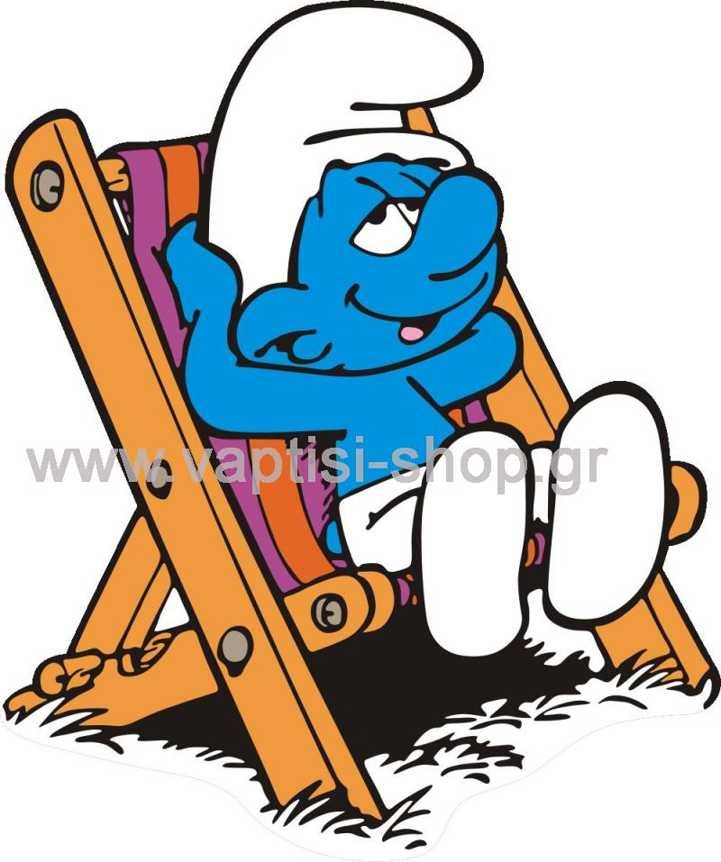f81c235735ce Στρουμφάκια - Cartoon - Χουζούρης (sm19) - Stand για Λαδόπανα ...