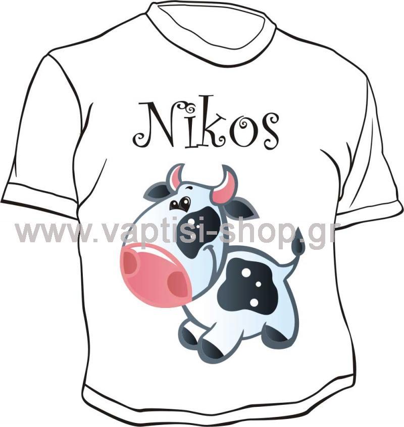 Μπλουζάκι με εκτύπωση 1