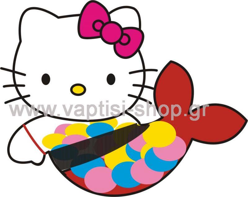 Hello Kitty Γοργόνα