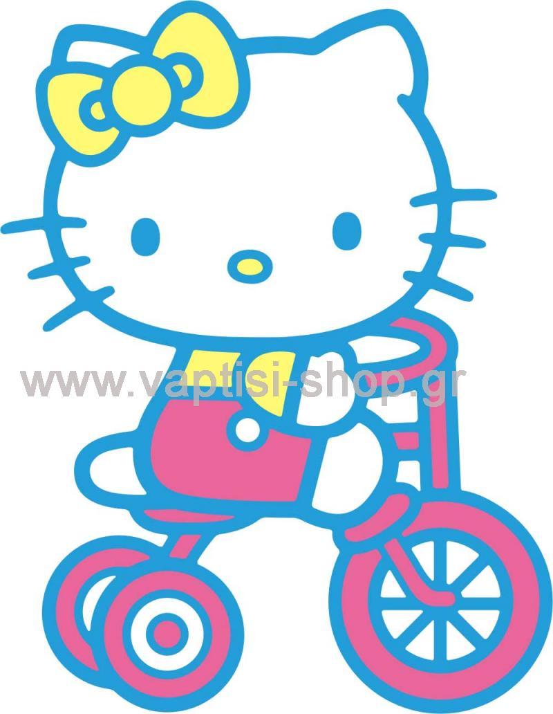Hello Kitty στο Ποδηλατάκι της