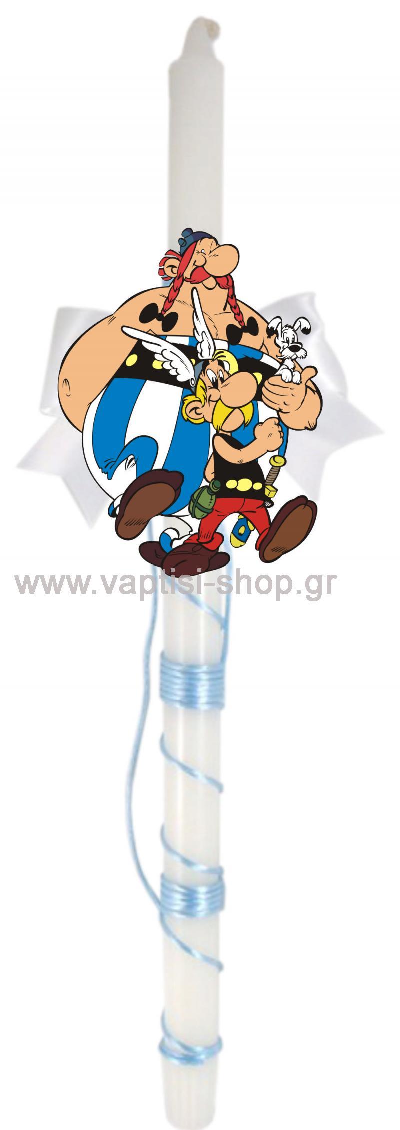 Πασχαλινή Λαμπάδα Asterix-Ovelix