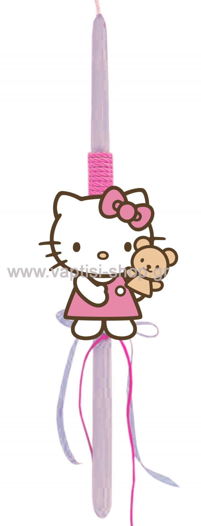 Πασχαλινή Λαμπάδα Hello Kitty 3