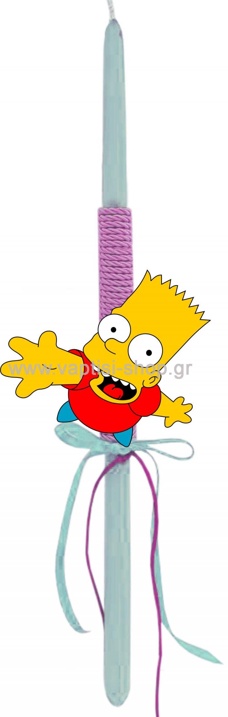 Πασχαλινή Λαμπάδα Bart Simpson