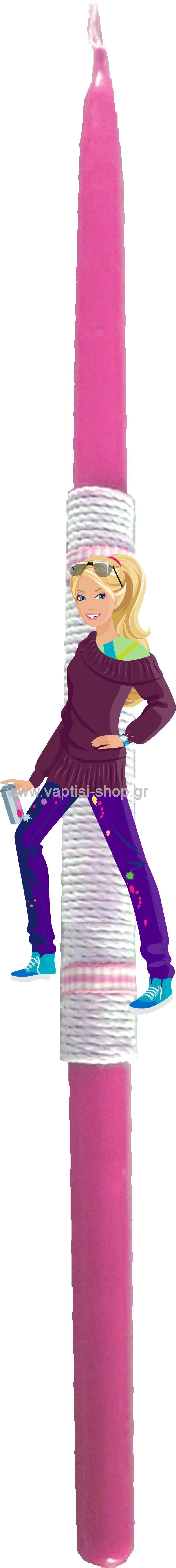 Πασχαλινή Λαμπάδα Barbie