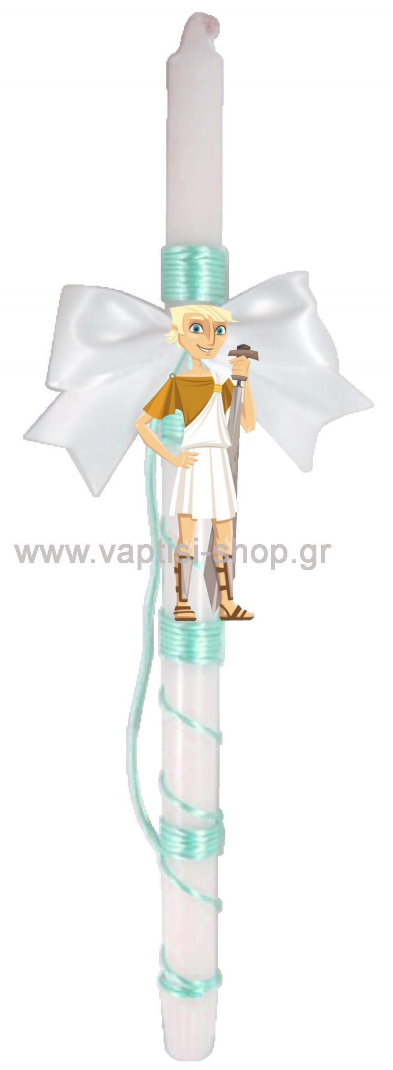Πασχαλινή Λαμπάδα Αρχαίος Έλληνας