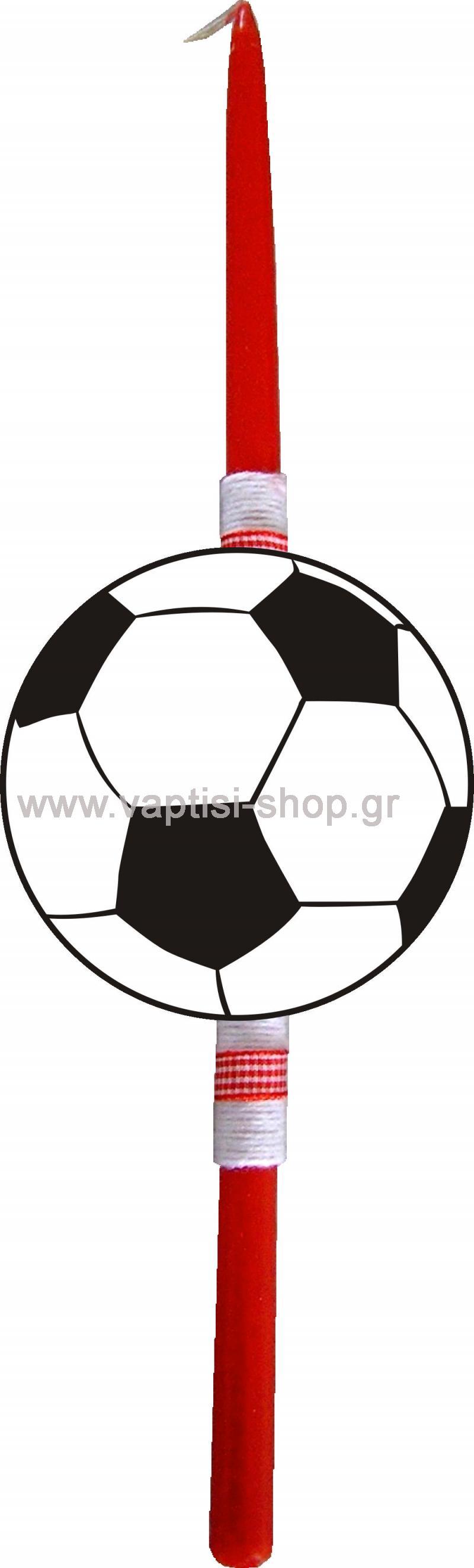 Πασχαλινή Λαμπάδα Μπάλα Ποδοσφαίρου