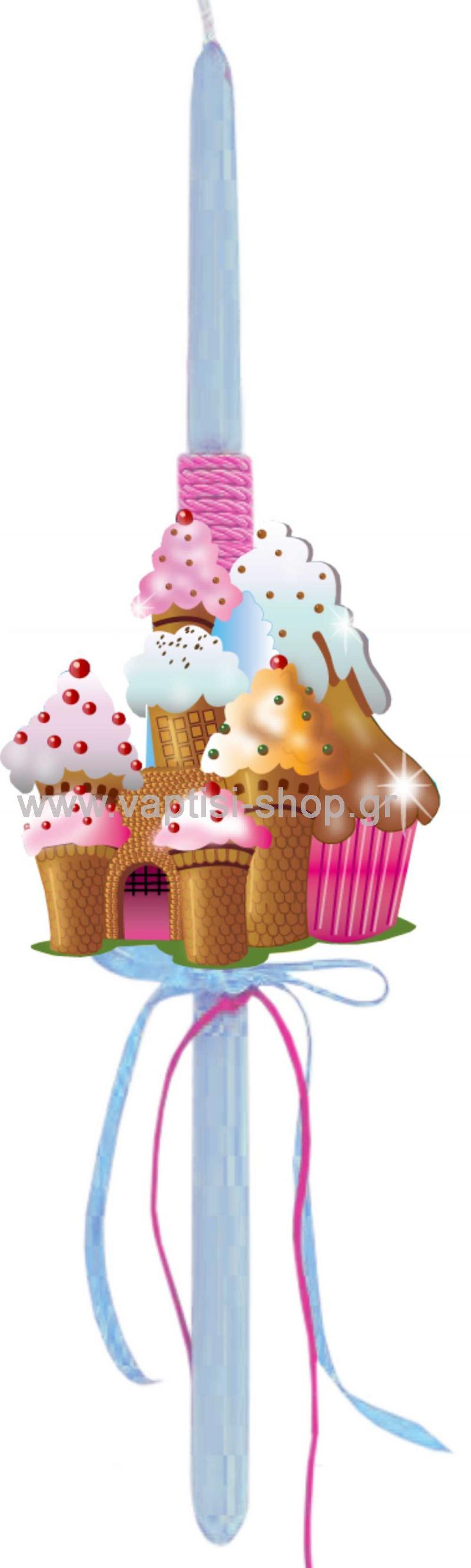 Πασχαλινή Λαμπάδα Candyhouse