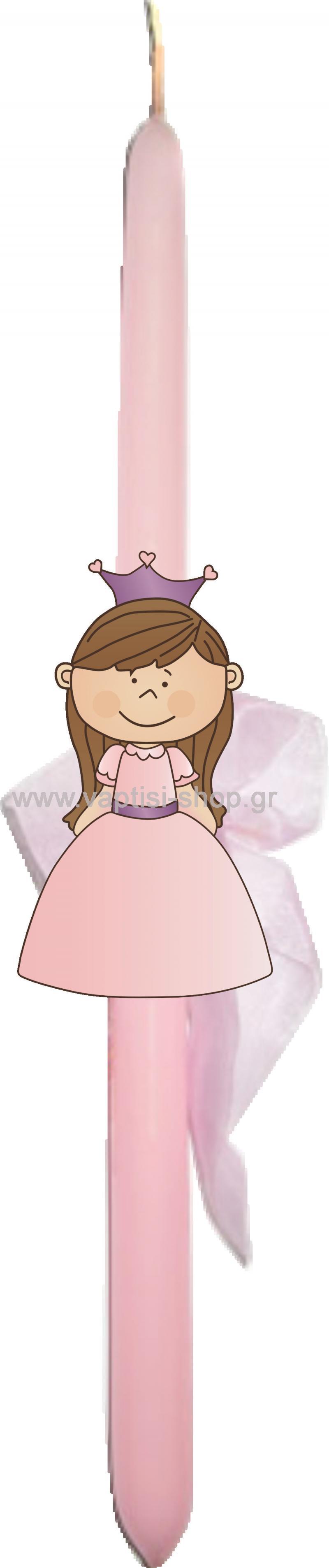 Πασχαλινή Λαμπάδα Πριγκίπισσα 2