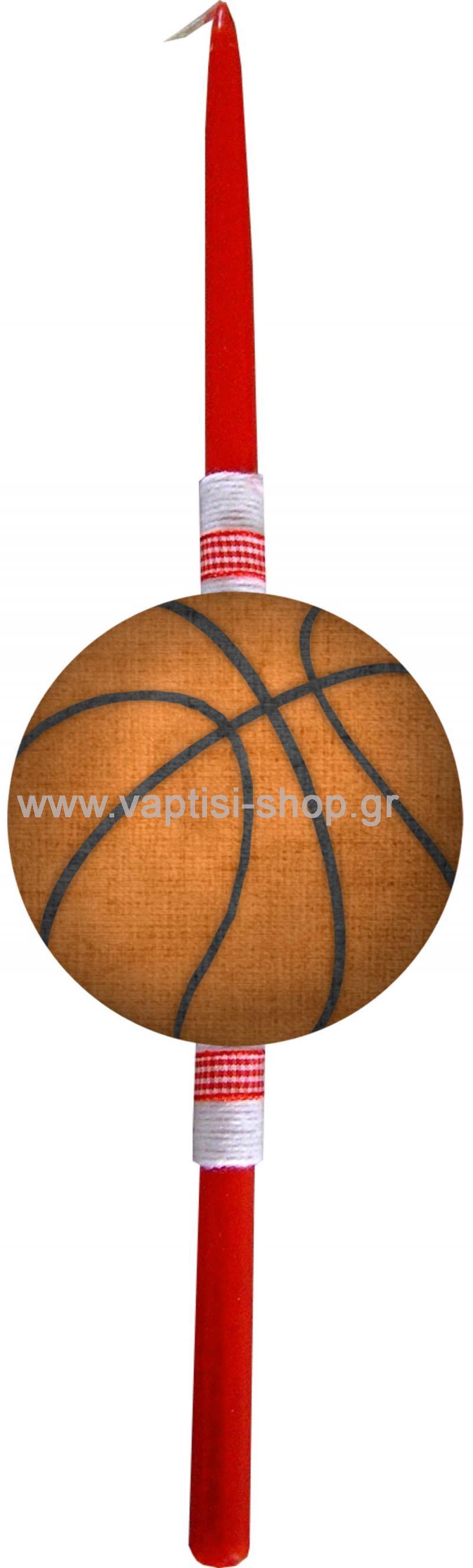 Πασχαλινή Λαμπάδα Μπάλα Μπάσκετ