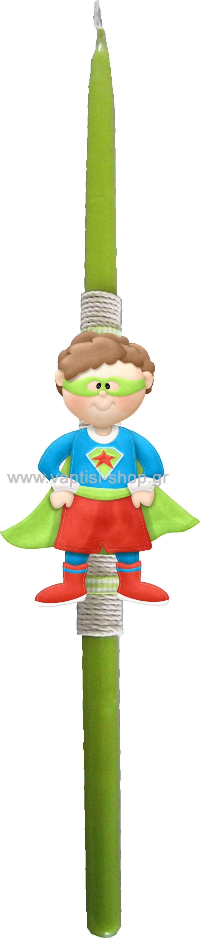 Πασχαλινή Λαμπάδα Superboy