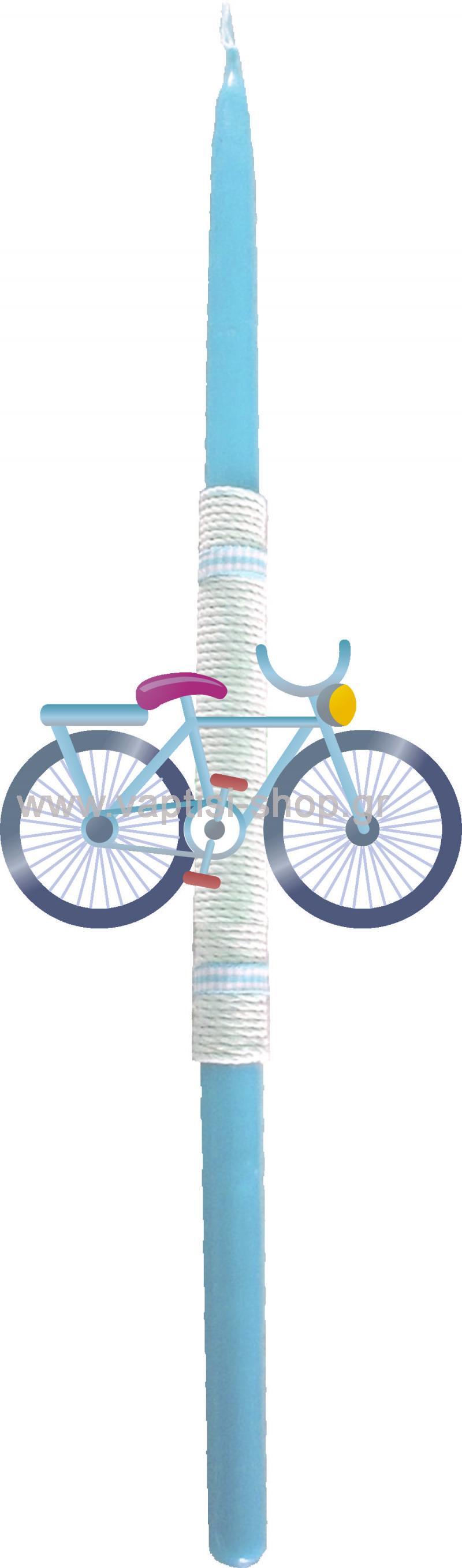 Πασχαλινή Λαμπάδα Ποδηλατάκι