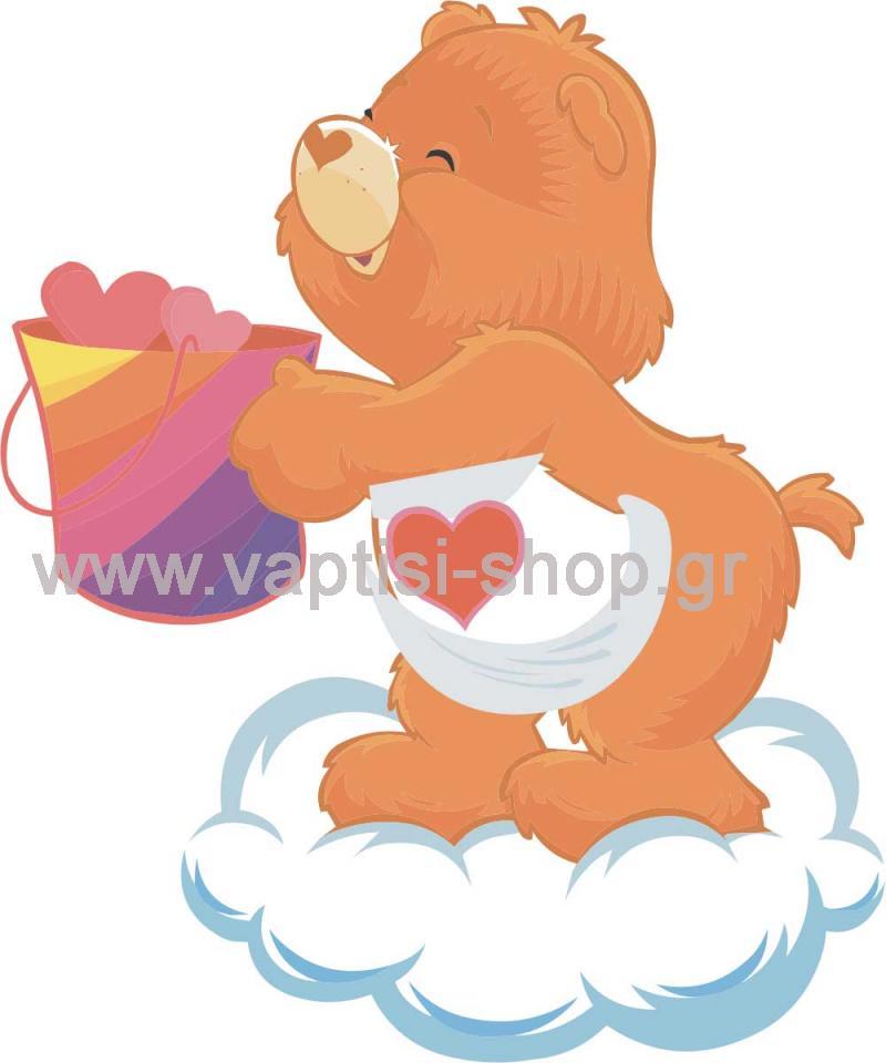 Αρκουδάκι της Αγάπης Πάνω σε Συννεφάκι