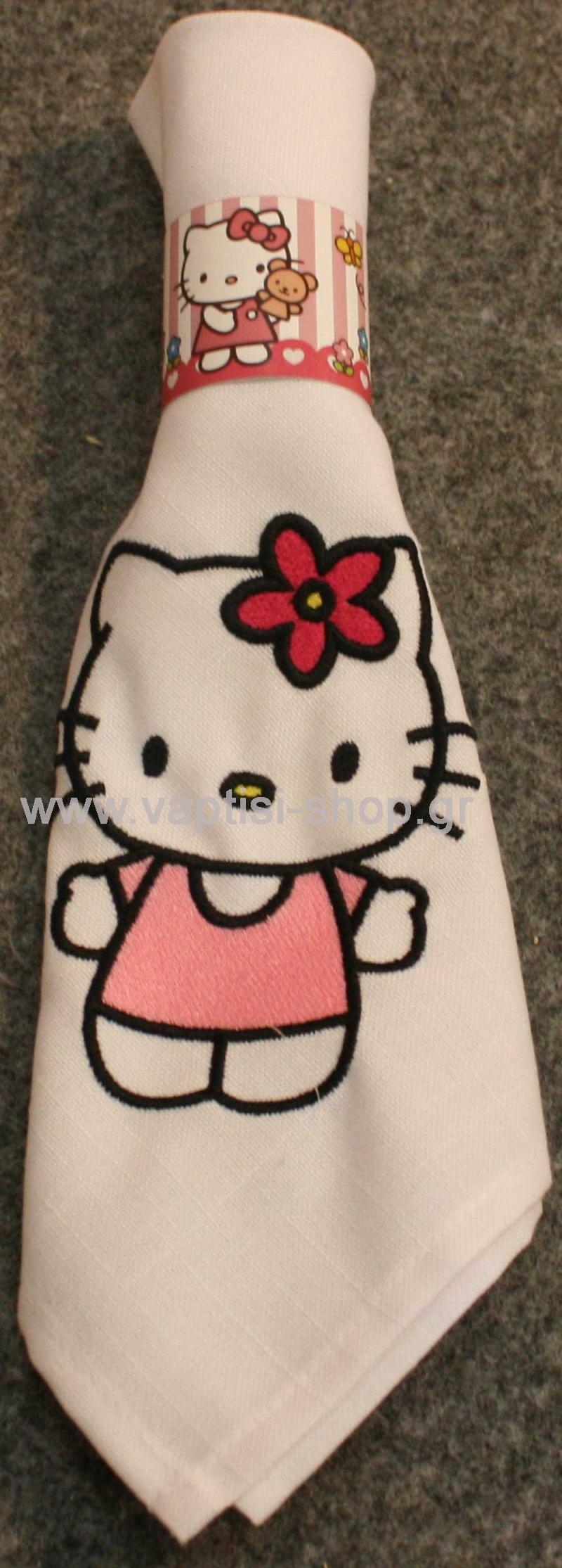 Πετσετάκι Hello Kitty