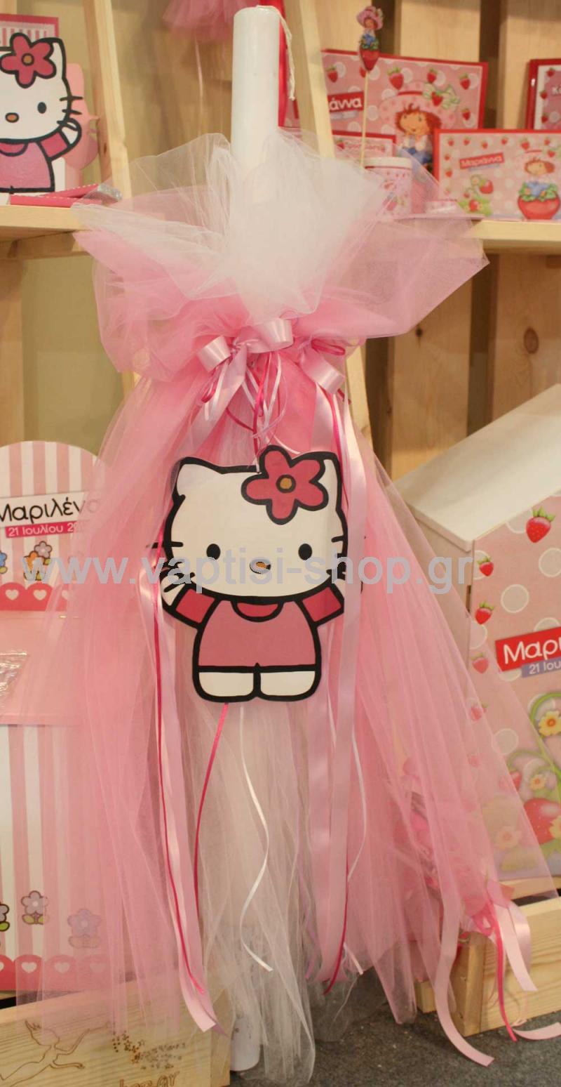 Λαμπάδα Hello Kitty