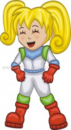 Αστροναύτης Κορίτσι