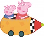 Peppa with George