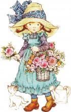 Sarah Kay με Λουλούδια