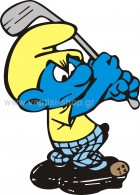 Στρουμφάκι Παίζει Γκολφ