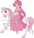 Πριγκίπισσα πάνω σε Άλογο