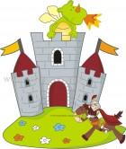 Κάστρο με Ιππότη