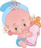 Μωράκι με Μπιμπερό