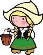 Κοριτσάκι Ολλανδέζα