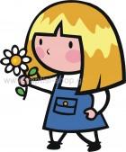 Κοριτσάκι με Λουλουδάκι