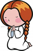 Κοριτσάκι Προσεύχεται