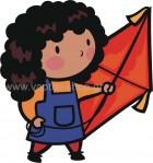 Κοριτσάκι με Χαρταετό