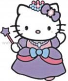 Hello Kitty Princess με Ραβδάκι