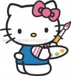Hello Kitty Ζωγράφος