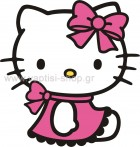 Hello Kitty Καθιστή