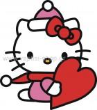 Hello Kitty με Καρδούλα
