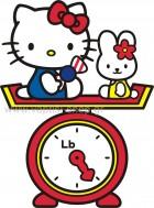 Hello Kitty & My Melody στη Ζυγαριά