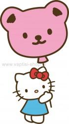 Hello Kitty με Μπαλόνι