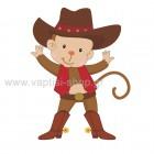 Μαϊμουδάκι Cowboy