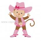 Μαϊμουδίτσα Cowgirl