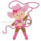 Μαϊμουδίτσα Cowgirl με Λάσο