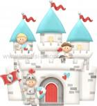 Κάστρο με Ιππότες Γαλάζιο