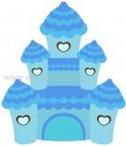 κάστρο γαλάζιο