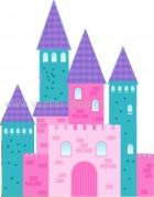 Κάστρο ροζ-τιρκουάζ