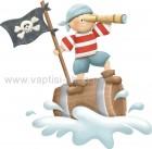 Πειρατής σε Βαρέλι