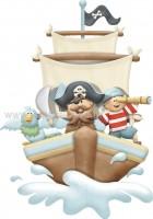 Πειρατής σε καράβι
