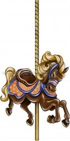 Αλογάκι Καρουζέλ