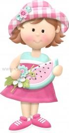 Κοριτσάκι με Θέμα Καρπούζι
