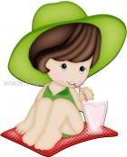 Κοριτσάκι στην Παραλία