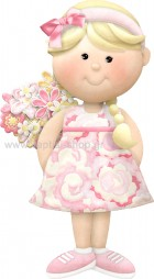 Κοριτσάκι με Λουλουδάκια
