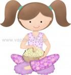 Κοριτσάκι με Λουλουδάκια στην Ποδιά