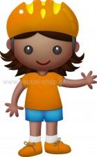 Κοριτσάκι με Κράνος