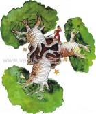 Δέντρα από τον Μικρό Πρίγκιπα του Παραμυθιού